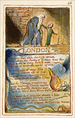 "Plate ""London"" by William Blake"